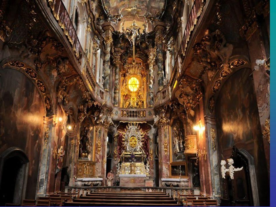 Asamkirche Asamkirche - die Kirche in München, erbaut im 1733-1746 Jahren Brüdern Azam. Es gilt als eines der bedeutendsten Bauwerke der deutschen Spä
