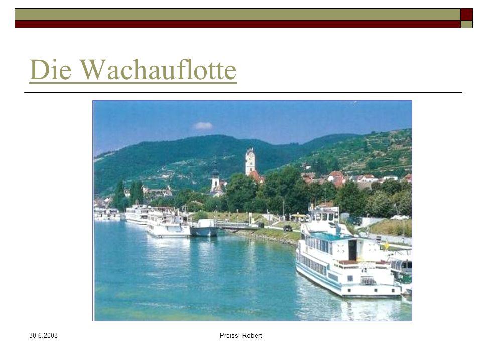 30.6.2008Preissl Robert Die Wachauflotte