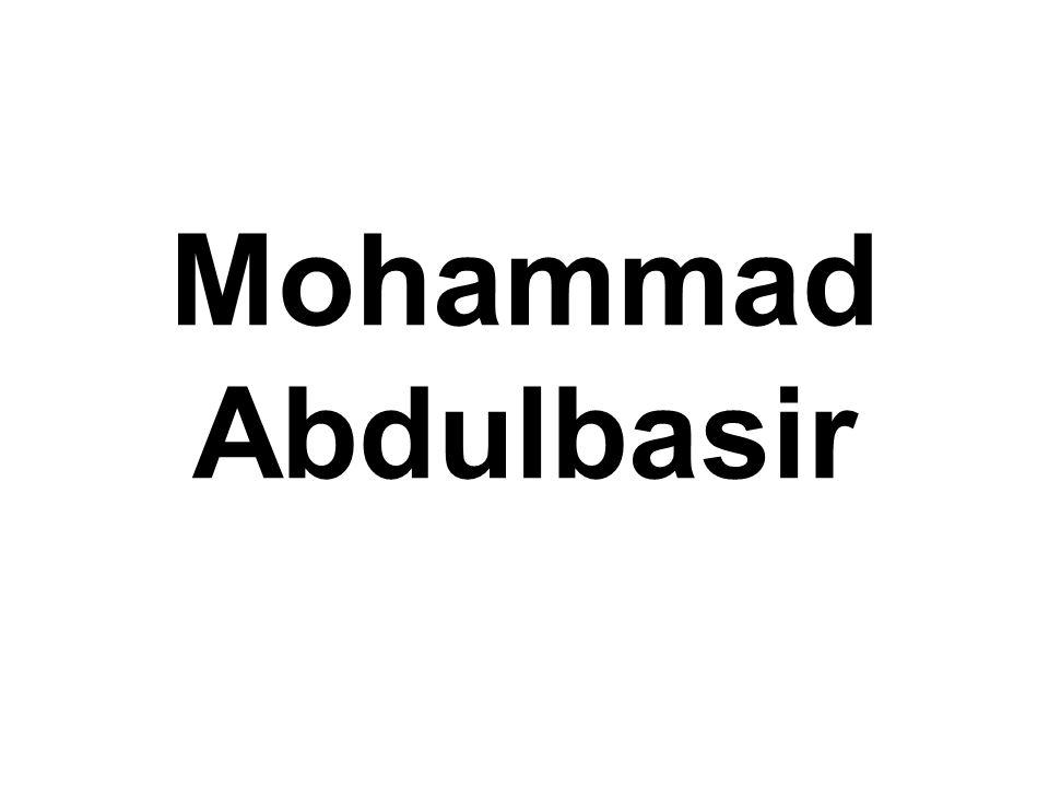 Mohammad Abdulbasir
