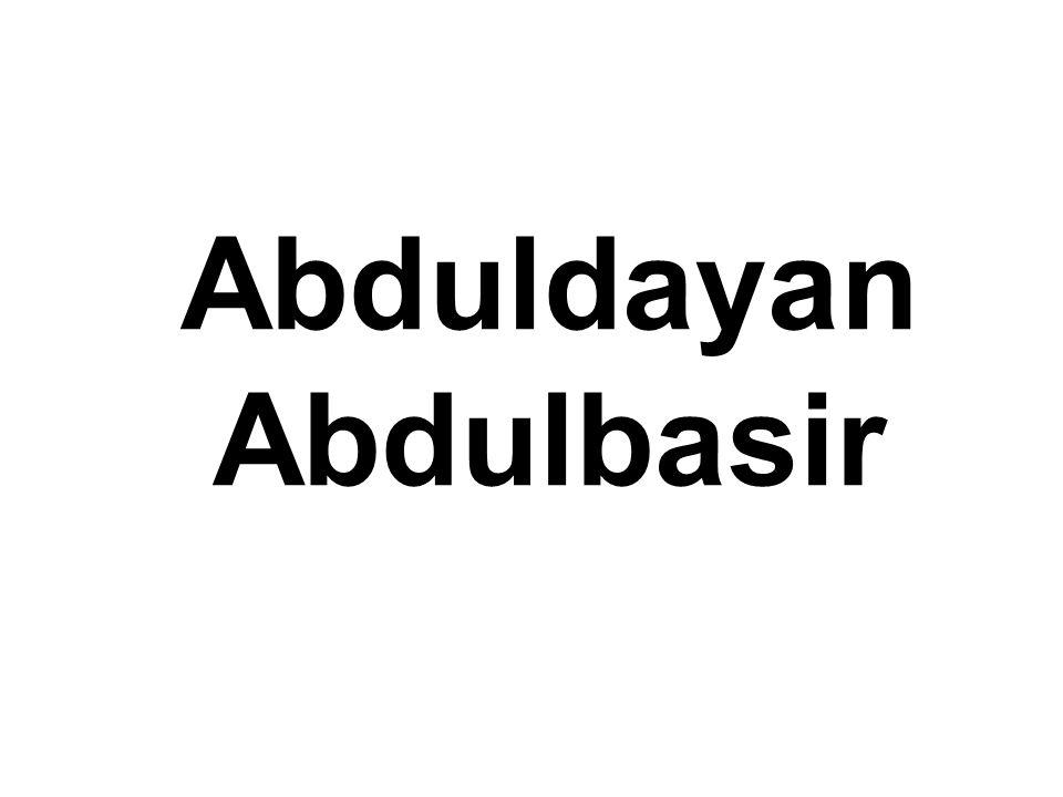 Abduldayan Abdulbasir