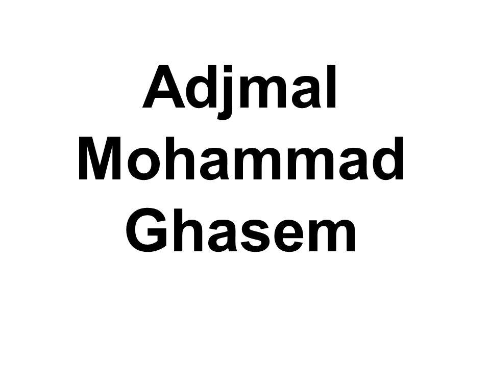 Adjmal Mohammad Ghasem