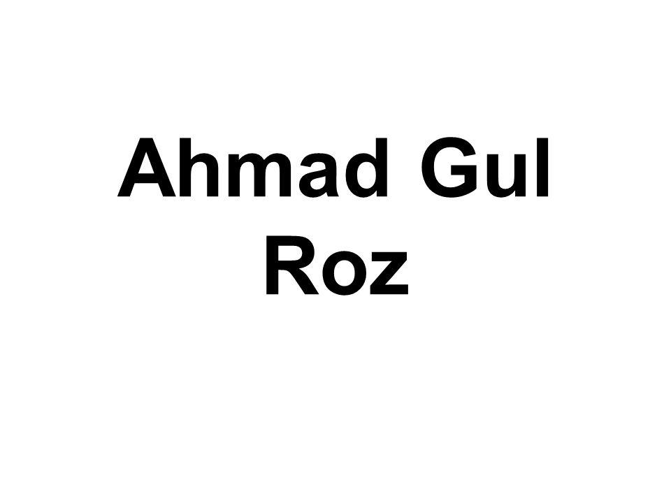 Ahmad Gul Roz