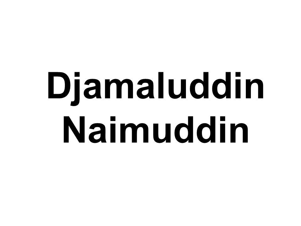 Djamaluddin Naimuddin