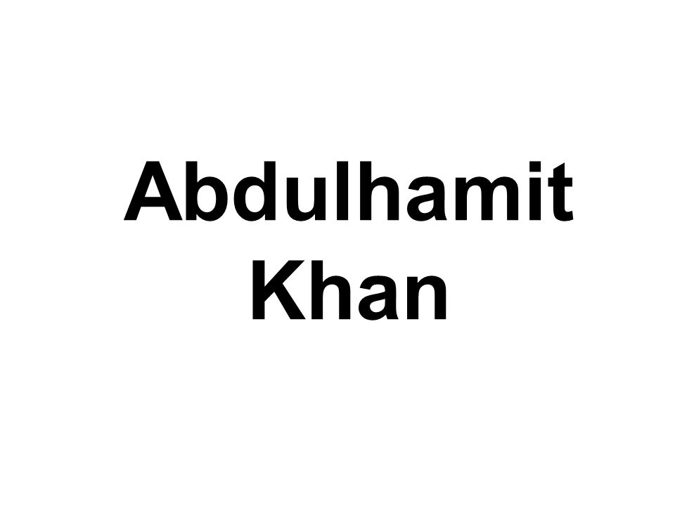 Abdulhamit Khan