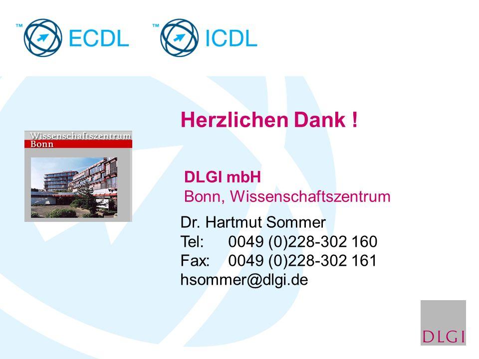 DLGI mbH Bonn, Wissenschaftszentrum Dr.