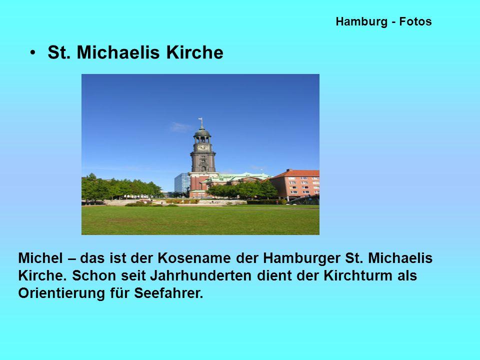 Hamburg - Fotos St.Michaelis Kirche Michel – das ist der Kosename der Hamburger St.