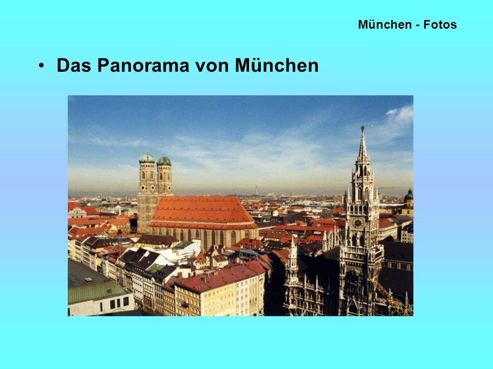 München - Fotos Das Panorama von München