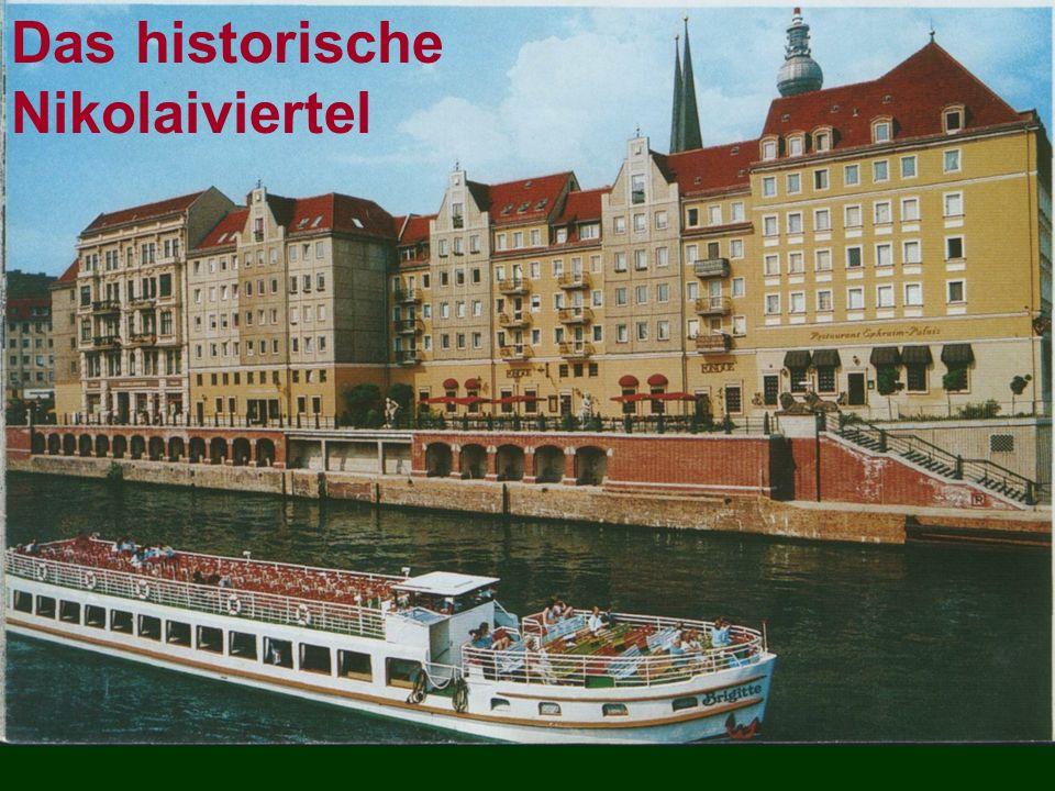 Das historische Nikolaiviertel
