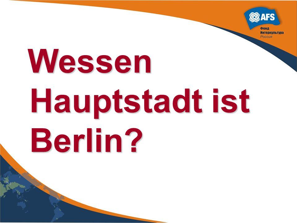 Wessen Hauptstadt ist Berlin? Wessen Hauptstadt ist Berlin?