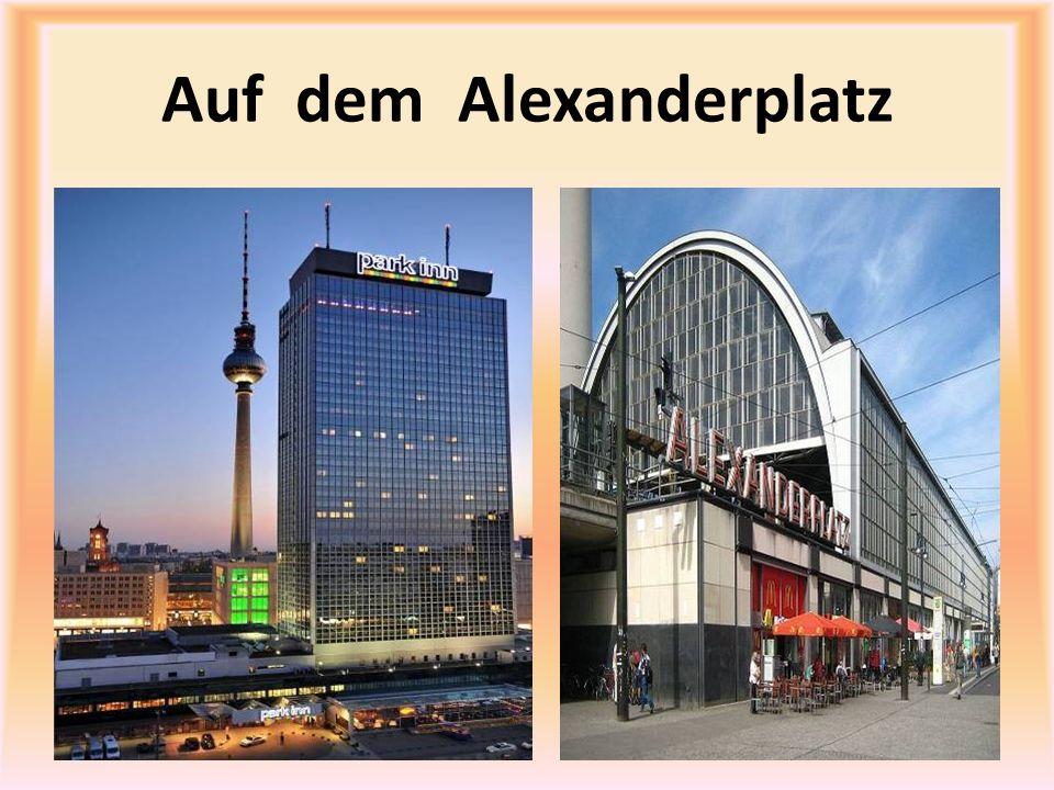Auf dem Alexanderplatz