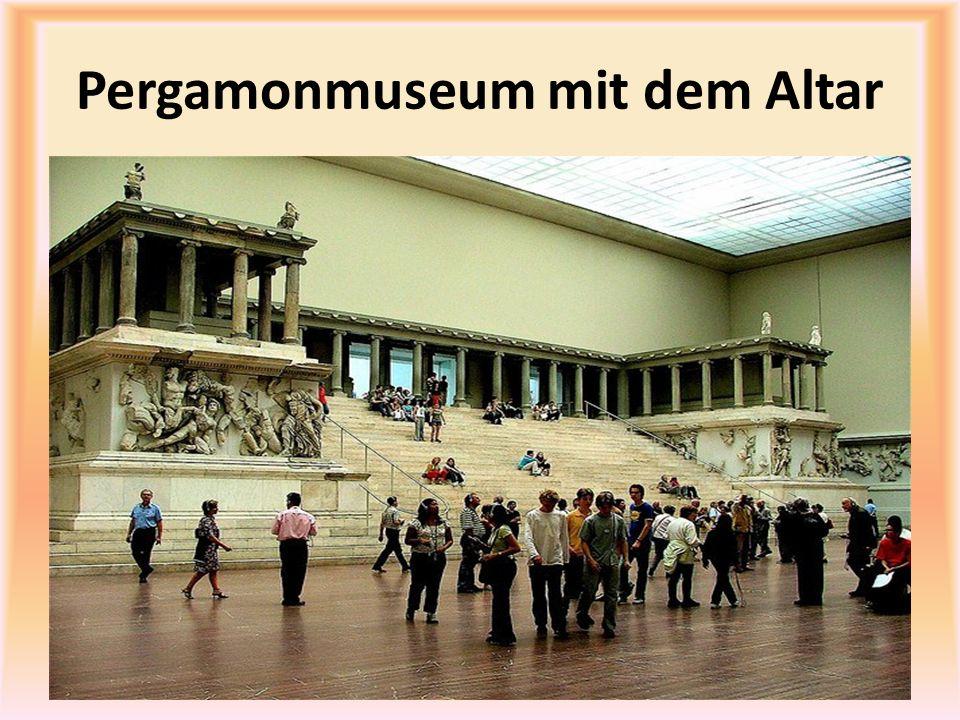 Pergamonmuseum mit dem Altar