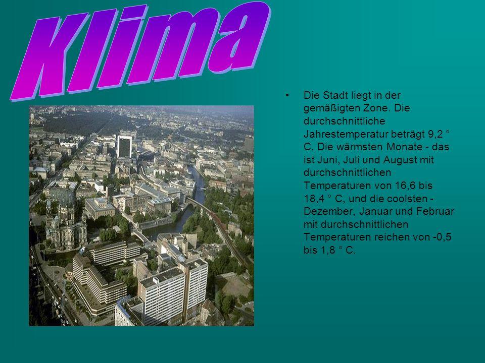 Die Stadt liegt in der gemäßigten Zone. Die durchschnittliche Jahrestemperatur beträgt 9,2 ° C.