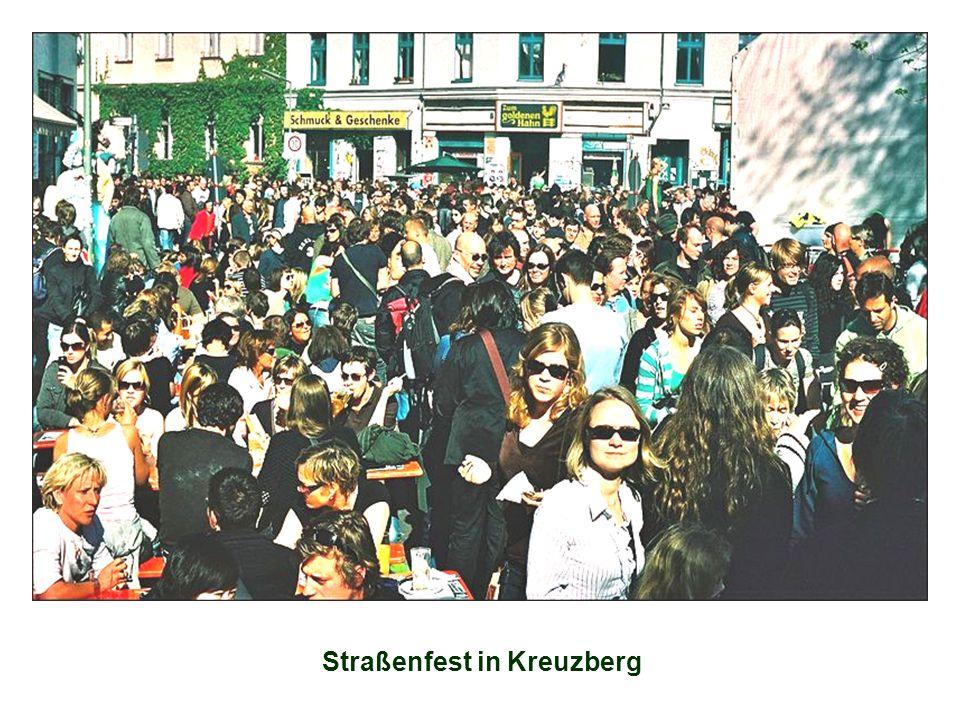 Straßenfest in Kreuzberg