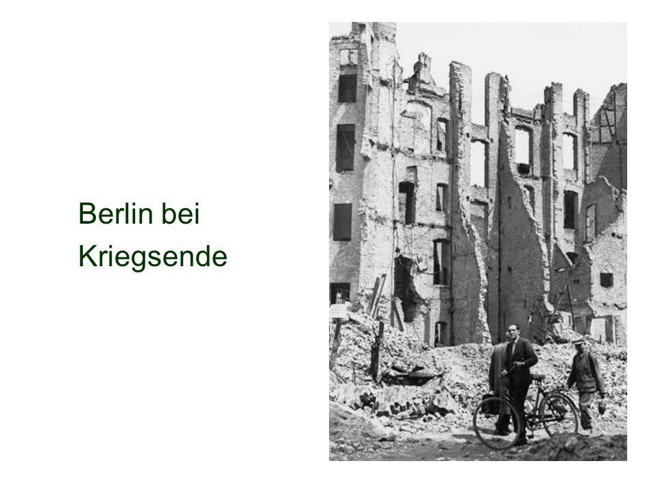 Berlin bei Kriegsende