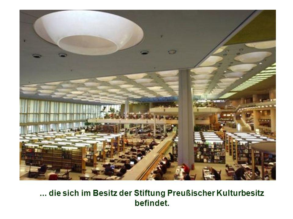 ... die sich im Besitz der Stiftung Preußischer Kulturbesitz befindet.