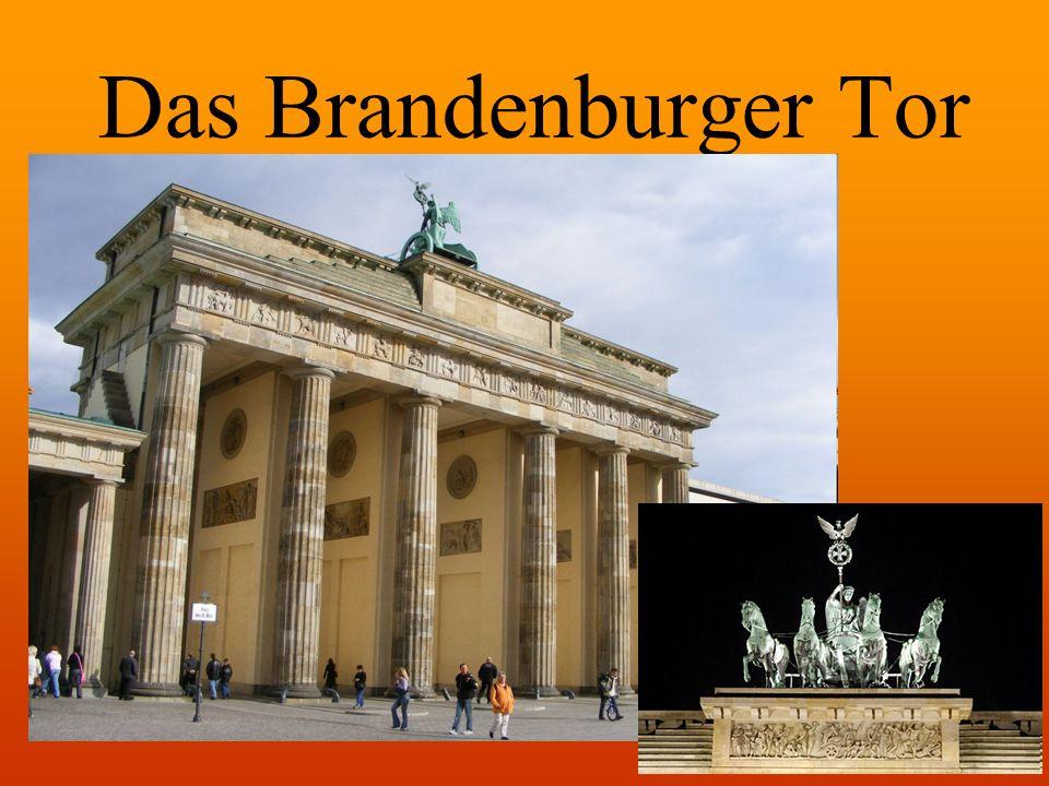 Bedeutung Markierung der Grenzen Symbol des Kalten Krieges Wiedervereinigung Deutschlands und Europas Das Brandenburger Tor am Tag der Wiedervereinigung am 3.10.1990