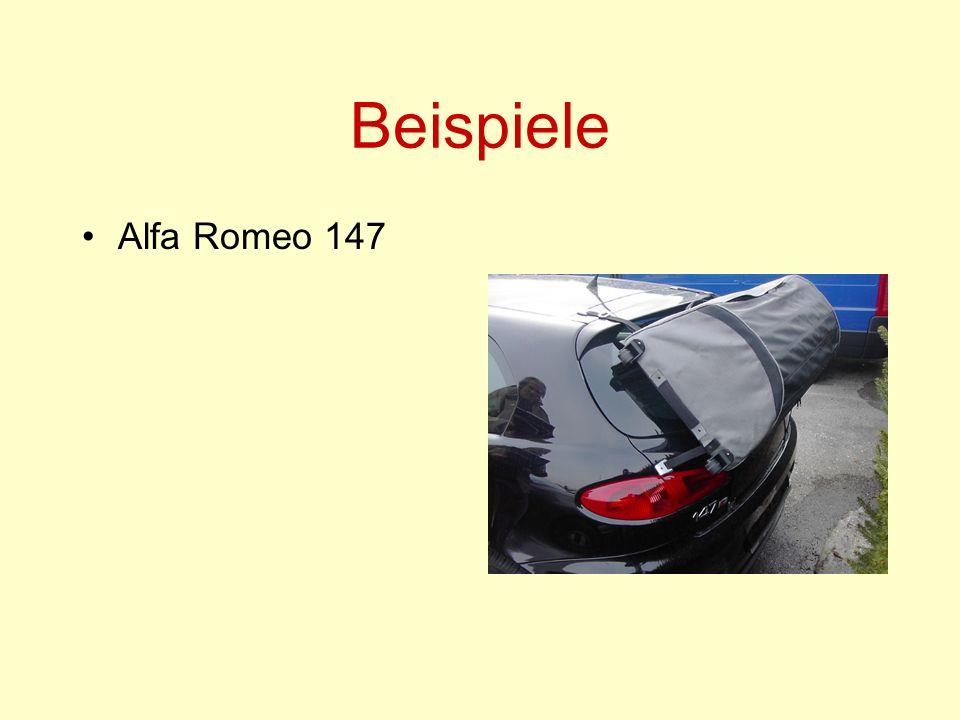 Beispiele Alfa Romeo 147