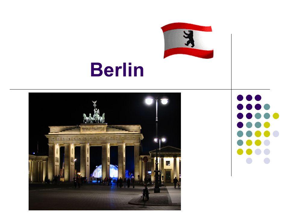 Berlin ist die größte Stadt Deutschlands.Es leben etwa 3,4 Millionen Menschen in Berlin.