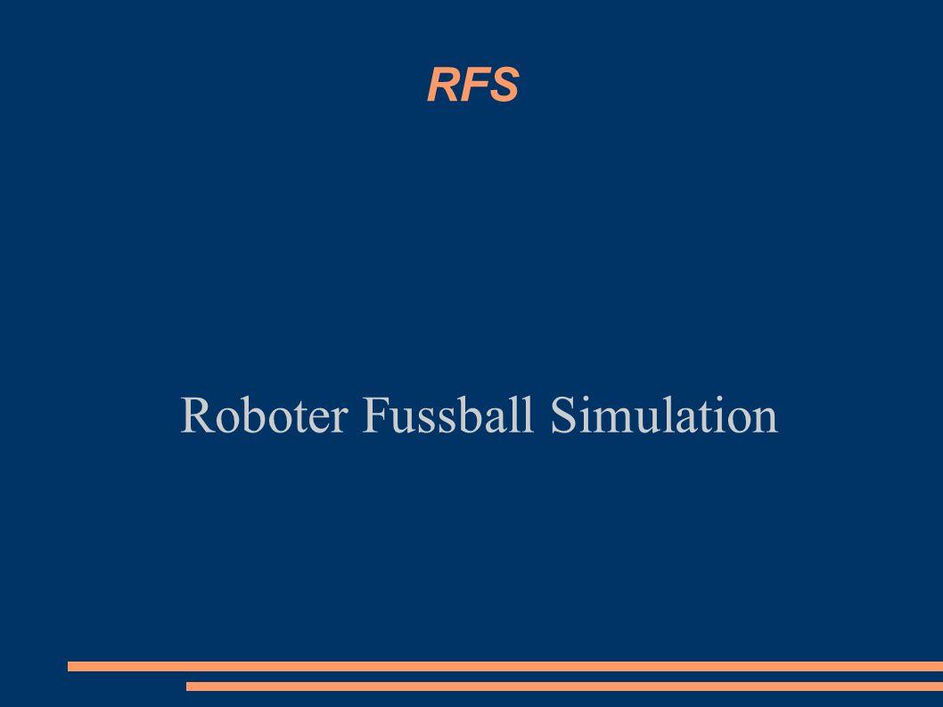 RFS Roboter Fussball Simulation