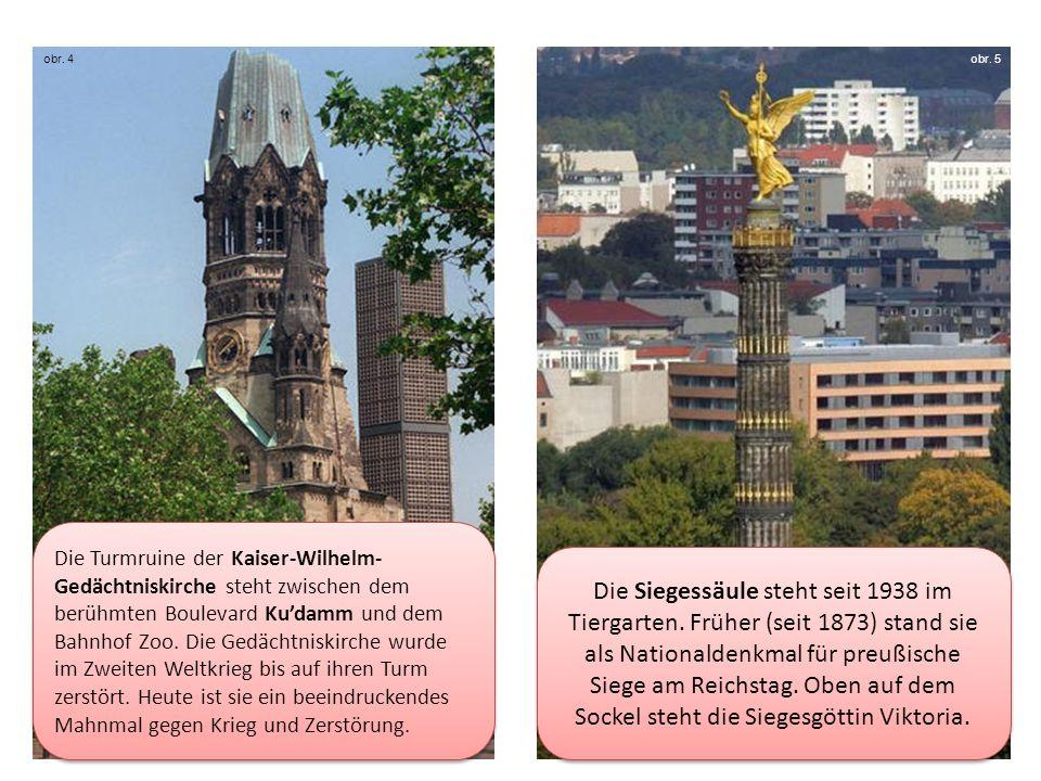 Die Turmruine der Kaiser-Wilhelm- Gedächtniskirche steht zwischen dem berühmten Boulevard Kudamm und dem Bahnhof Zoo.