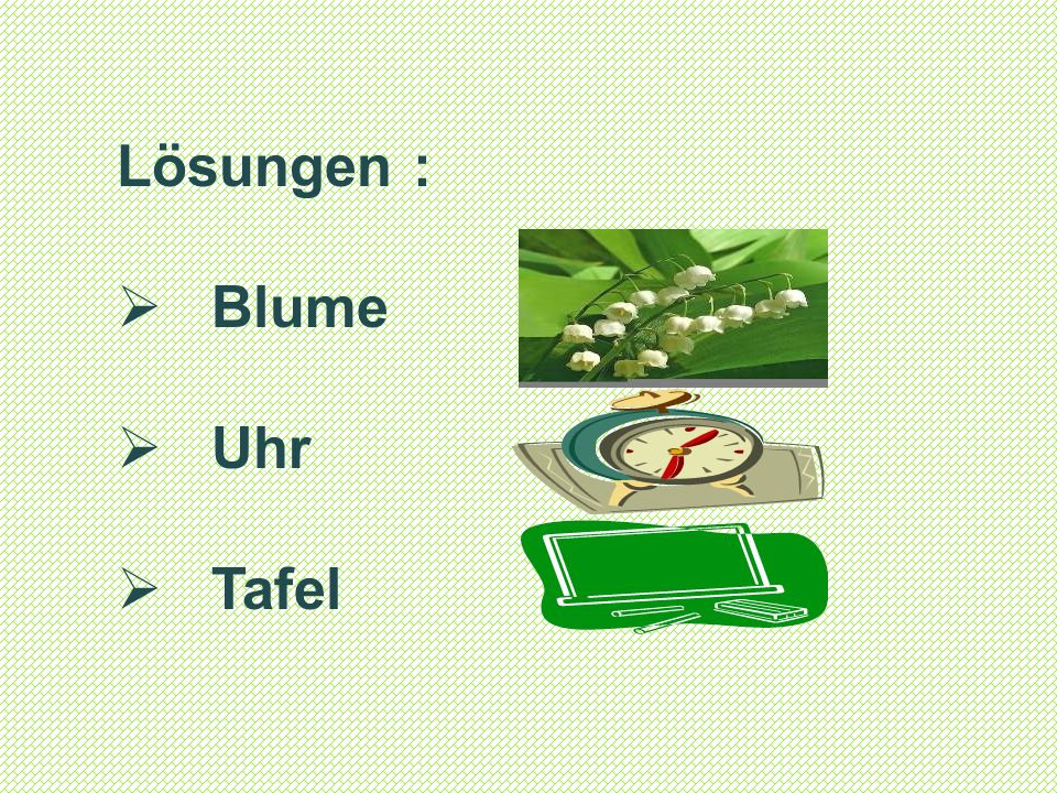 Der VII.Raund Какие слова пришли из немецкого языка.