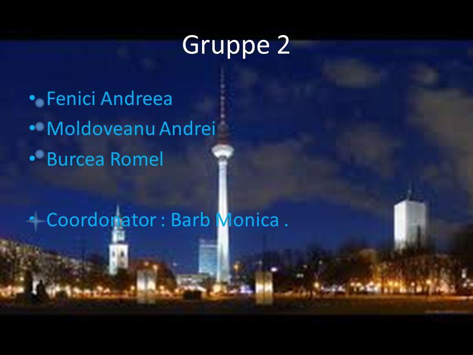 Gruppe 2 Fenici Andreea Moldoveanu Andrei Burcea Romel Coordonator : Barb Monica.