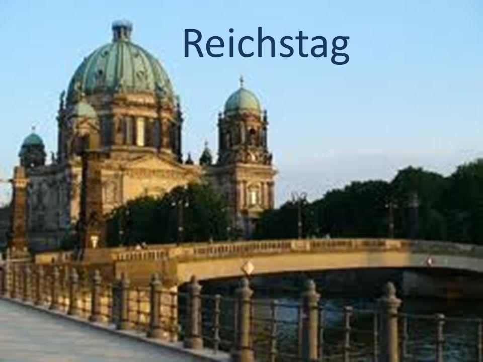 Das Reichstag Das Reichstagsgebäude ist eine der meistbesuchten Sehenswürdigkeiten Berlins.