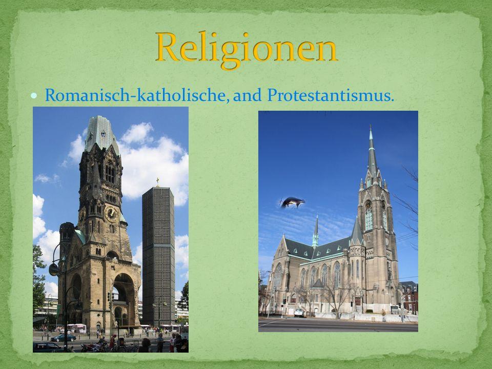 Romanisch-katholische, and Protestantismus.