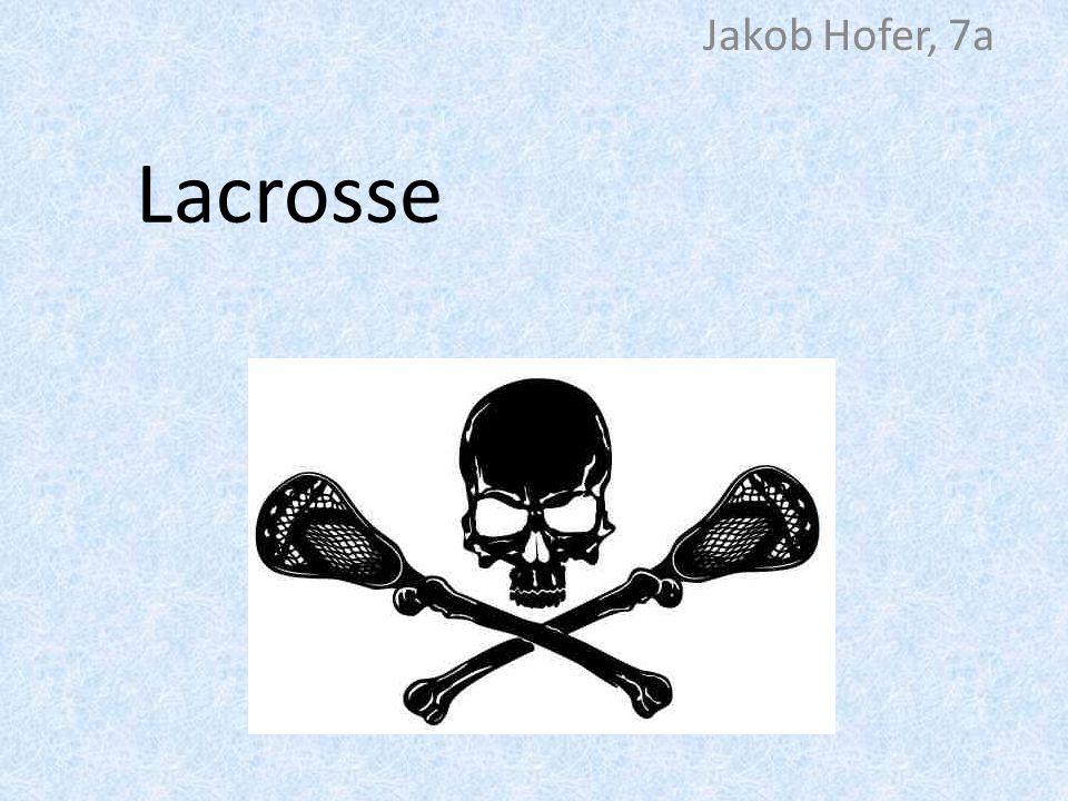 Modernes Lacrosse Metallstab + Netzkorb am Ende Goalkeeper hat ein größeres Netz Schutzkleidung olympisch Kanada Collage-Leagues Profis