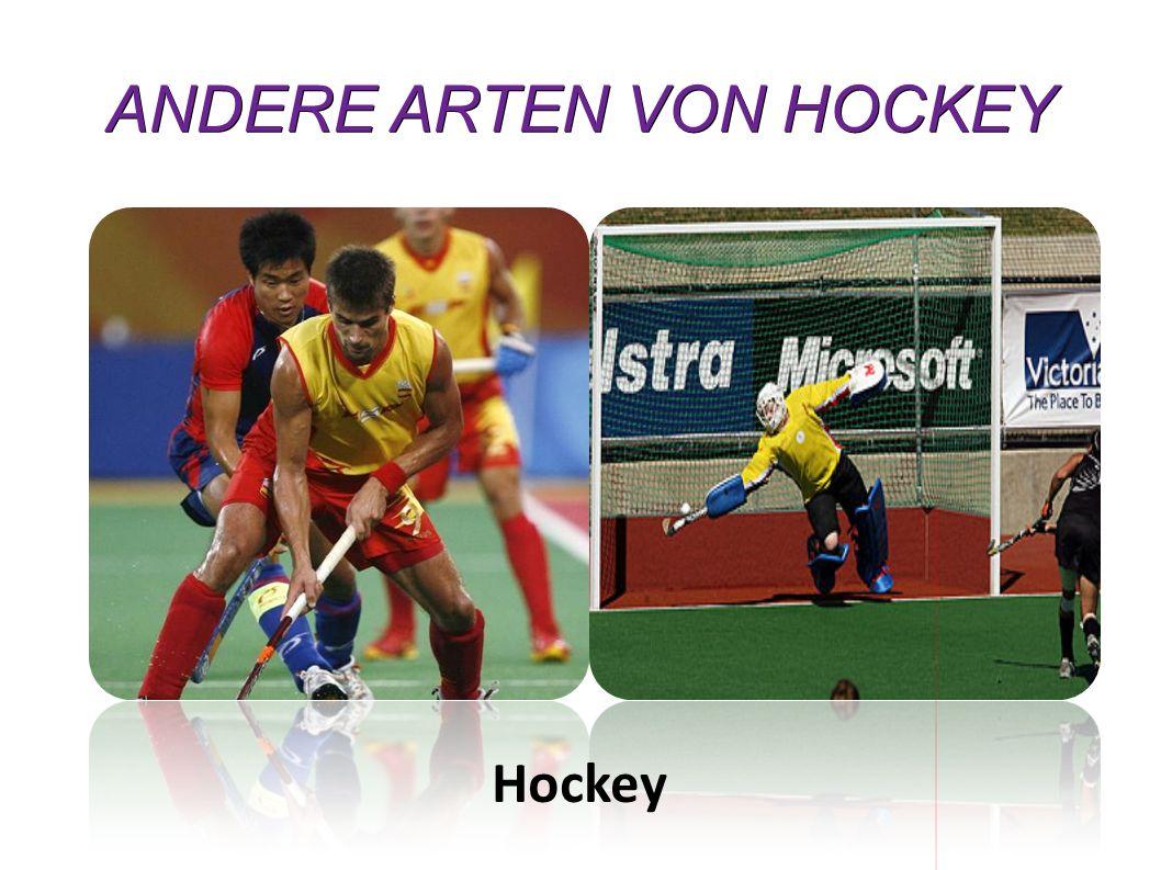 ANDERE ARTEN VON HOCKEY Hockey