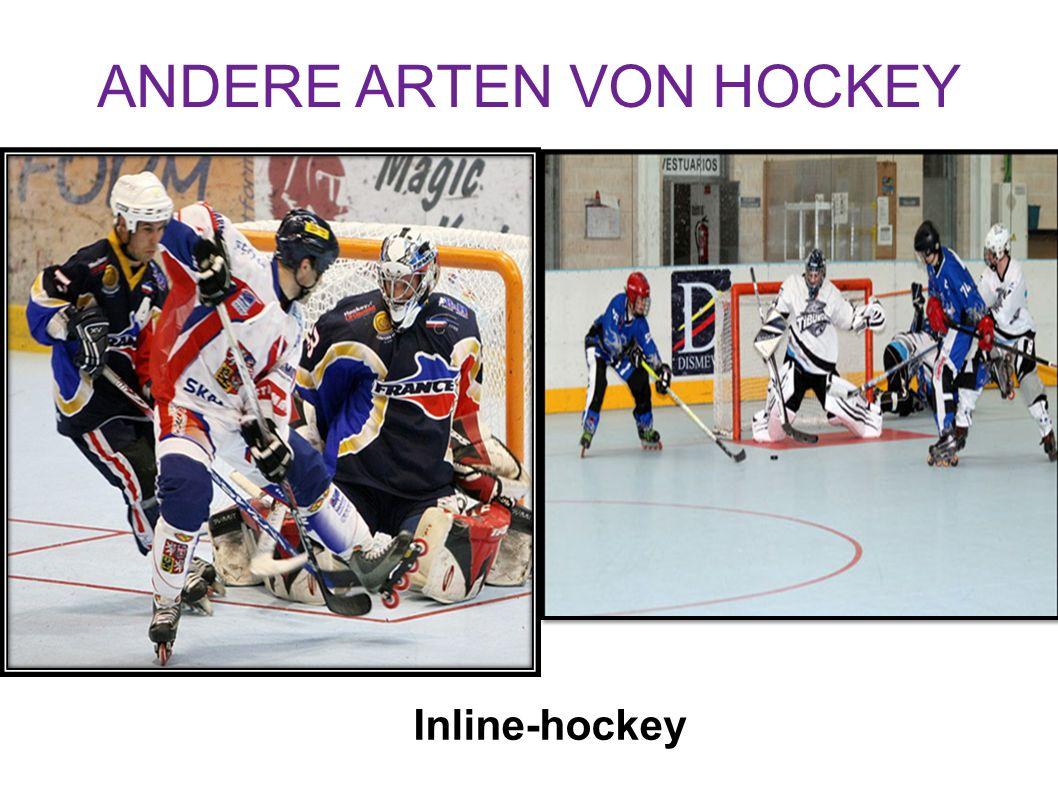 ANDERE ARTEN VON HOCKEY Inline-hockey