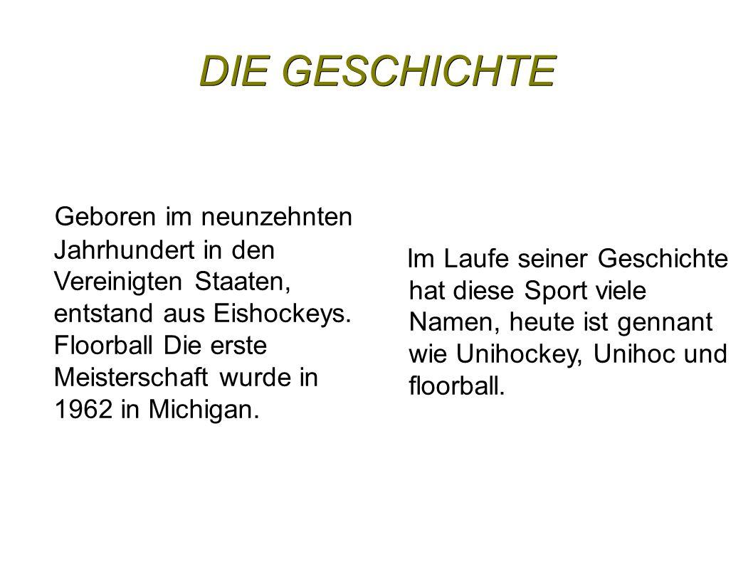 DIE GESCHICHTE Geboren im neunzehnten Jahrhundert in den Vereinigten Staaten, entstand aus Eishockeys.