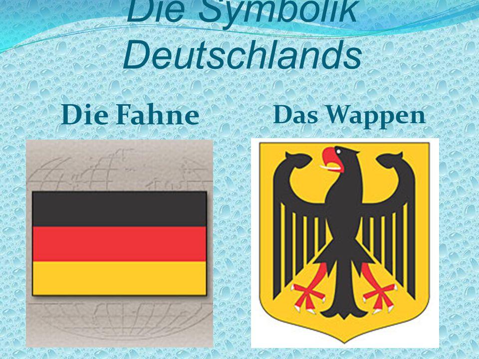 Die Symbolik Deutschlands Die Fahne Das Wappen