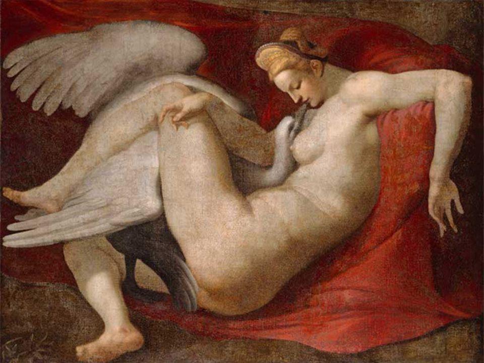 Die Erschaffung Adams Das Jüngste Gericht Malerei Leda und der Schwan