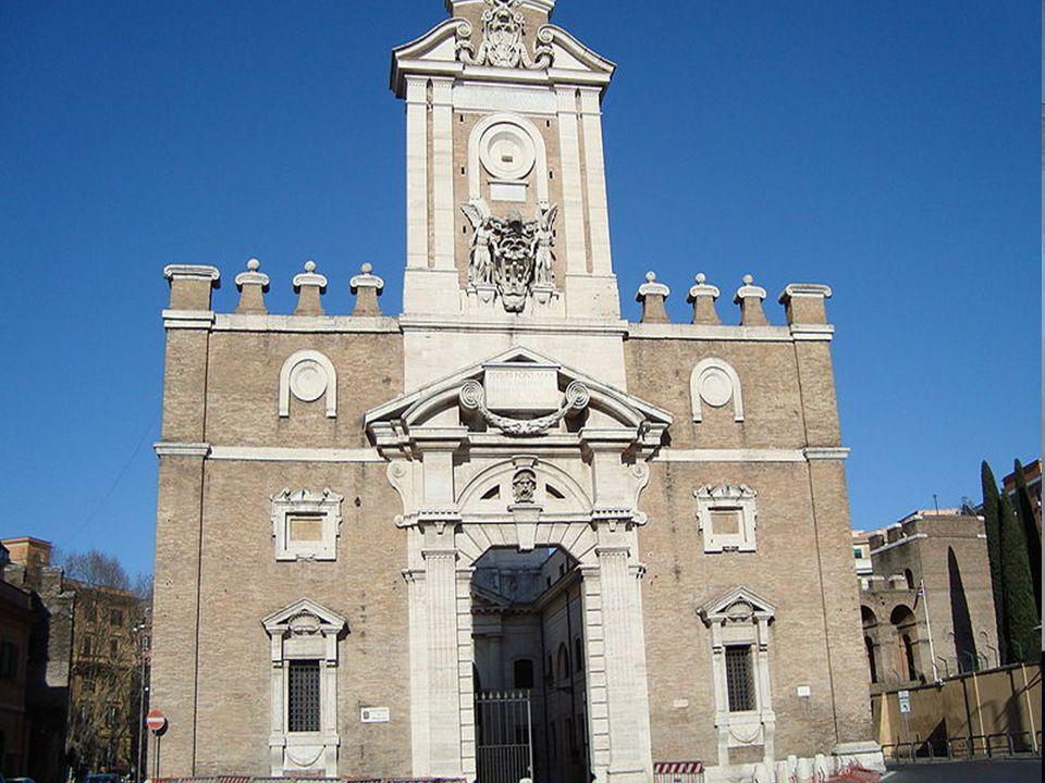 Achitektur Die Kuppel der Basilika St. Petrus Sakristei von Julius II Porta Pia