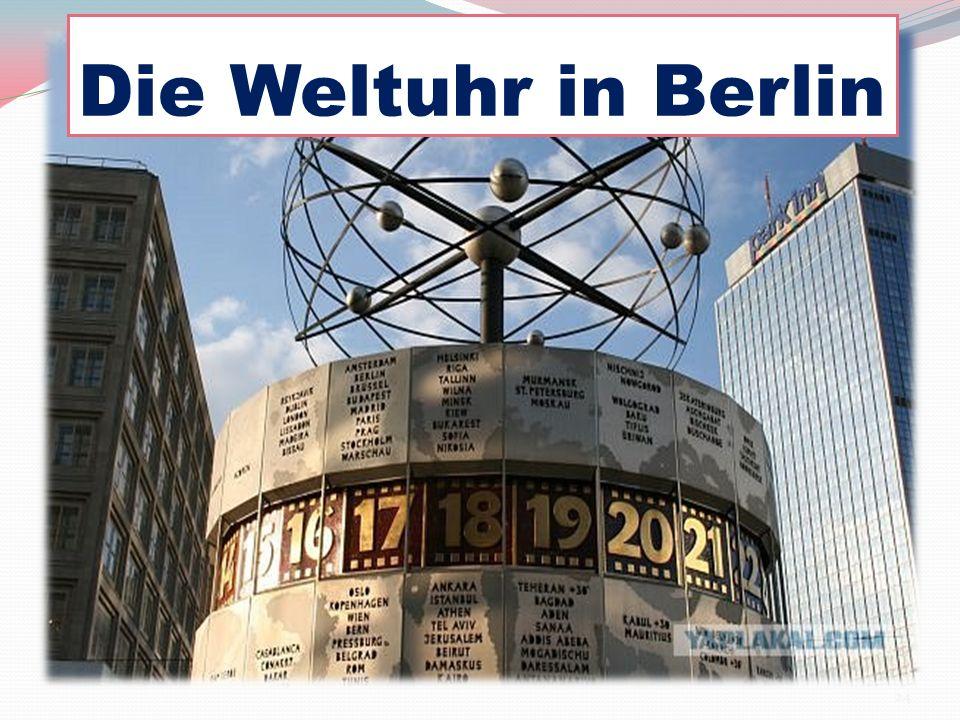 Die Weltuhr in Berlin 24
