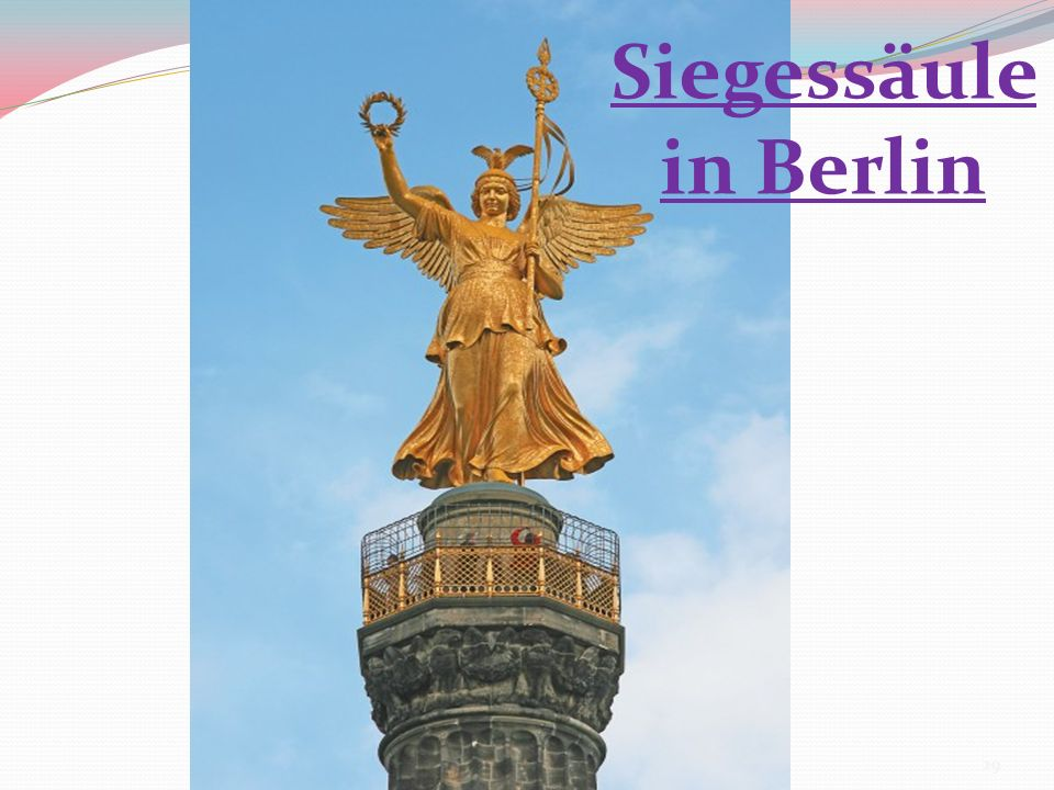 Siegessäule in Berlin 29