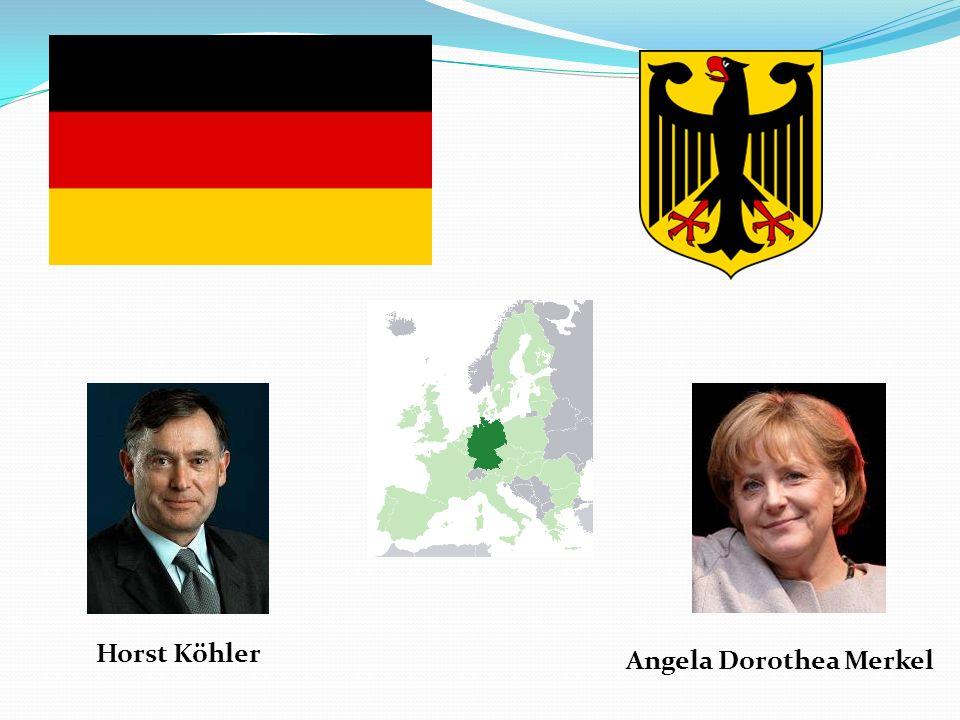 Horst Köhler Angela Dorothea Merkel