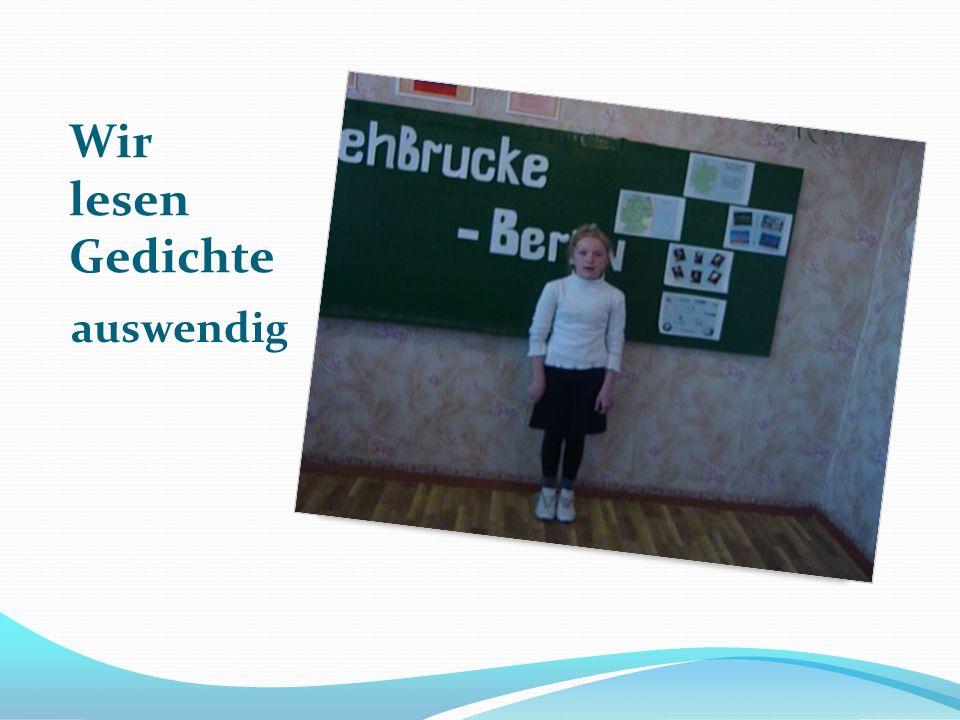 Wir singen deutsch