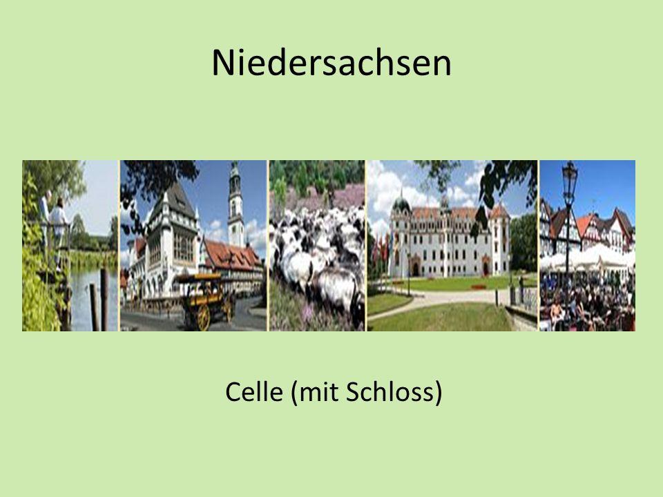 Niedersachsen Celle (mit Schloss)