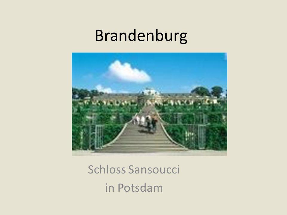 Brandenburg Schloss Sansoucci in Potsdam