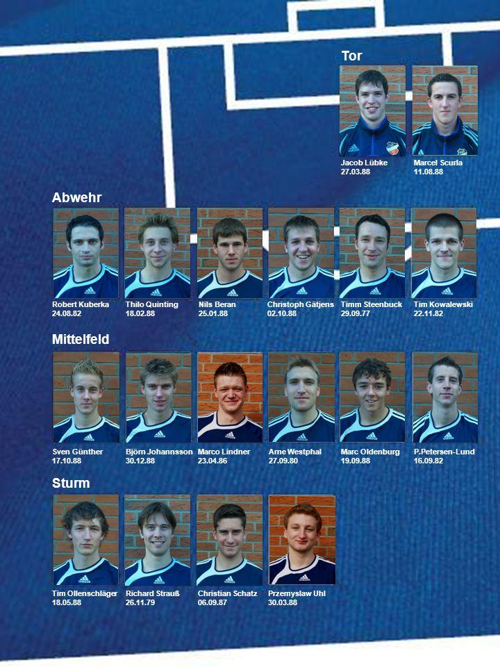 Die Top10-Goalgetter der 1. Herren: