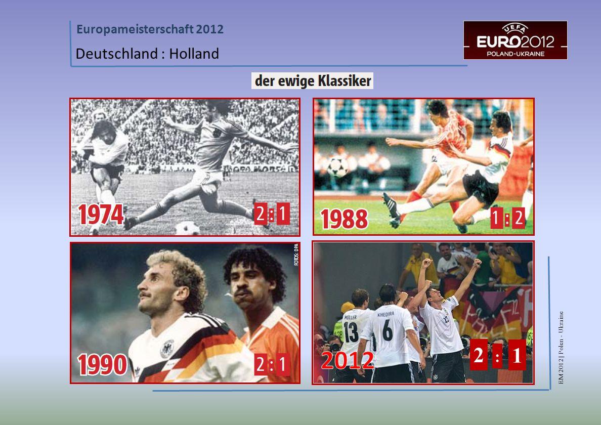EM 2012 | Polen - Ukraine Europameisterschaft 2012 Deutschland : Holland 2 : 1