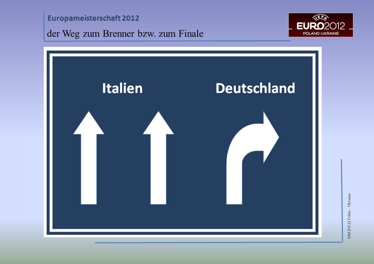 EM 2012 | Polen - Ukraine Europameisterschaft 2012 der Weg zum Brenner bzw. zum Finale