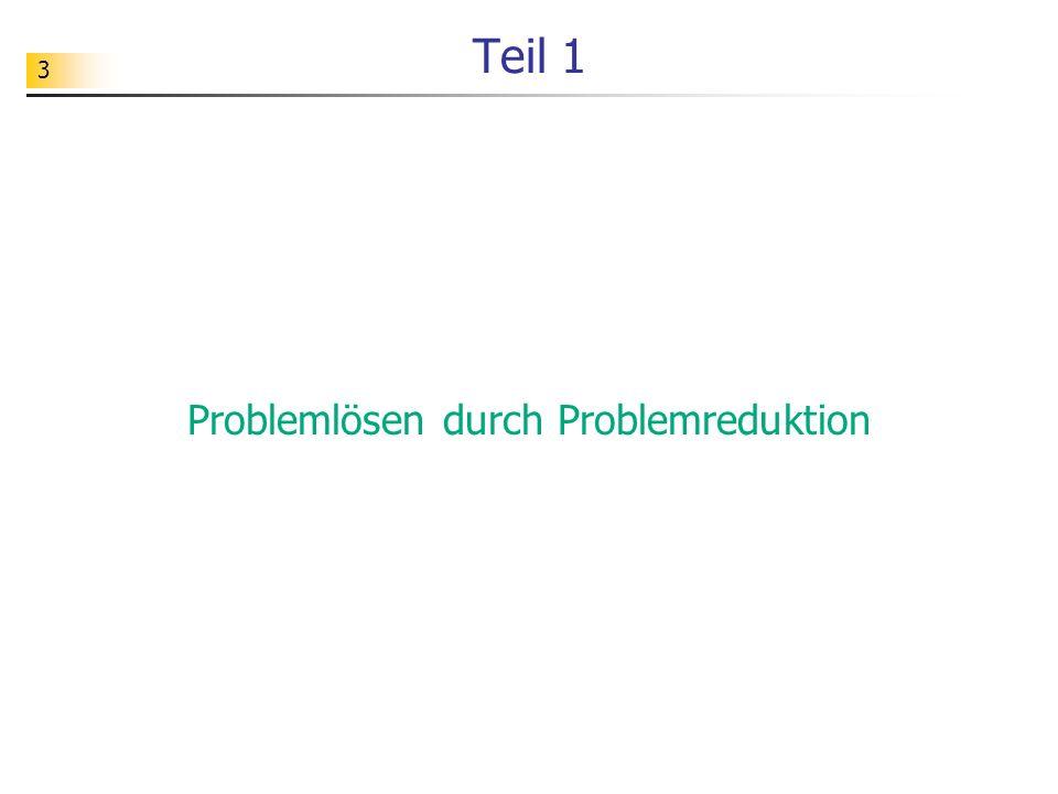 44 Rekursive Struktur natürlicher Zahlen Problem: Die Summe der ersten n natürlichen Zahlen soll berechnet werden.