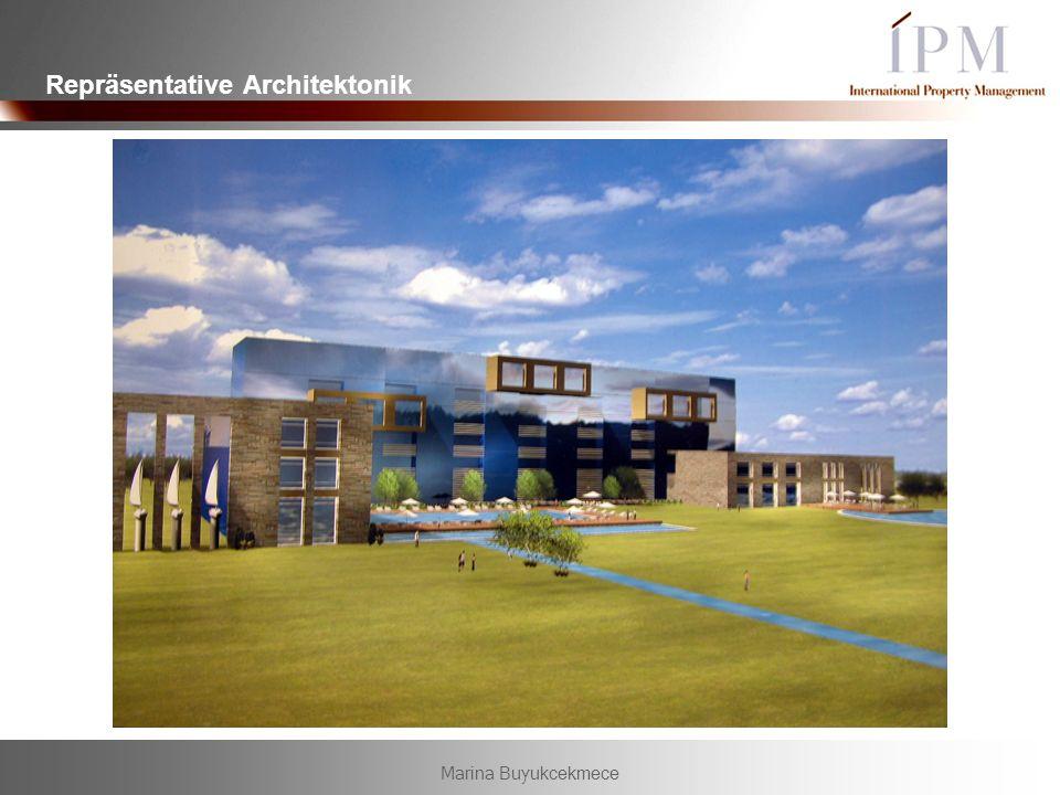 Marina Buyukcekmece Repräsentative Architektonik