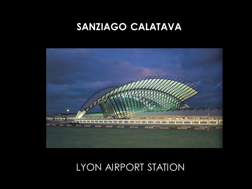 SANZIAGO CALATAVA LYON AIRPORT STATION