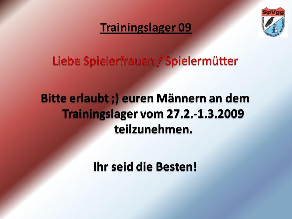 Trainingslager 09