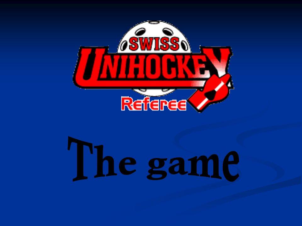 Spielen ohne Stock Wenn ein Feldspieler ohne Stock weiter aktiv am Spiel teilnimmt, erhält er eine Zweiminutenstraffe.