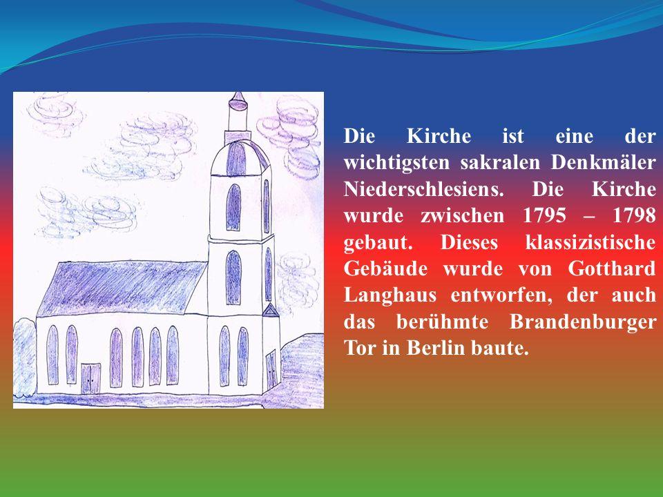 Die Kirche ist eine der wichtigsten sakralen Denkmäler Niederschlesiens.